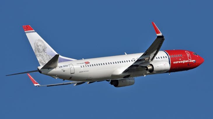 Norwegian airplane