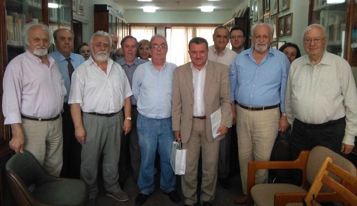 Συνάντηση με την Επτανησιακή Συνομοσπονδία