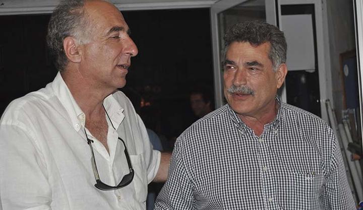 Γ. Ραιδεστινός(Α), Κ. Νικολούζος (Δ) σε παλιές καλές στιγμές...
