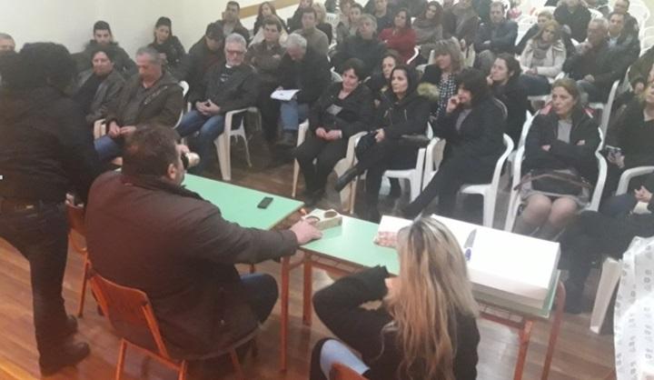 Στη Γενική τους Συνέλευση οι εργαζόμενοι στο SANDY εξέφρασαν τις ανησυχίες τους.