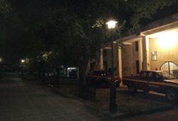 Ηλεκτροφωτισμος πλατεία Κουλίνων