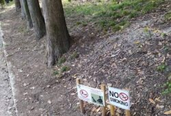 Σήμανση πάρκων και πλατειών